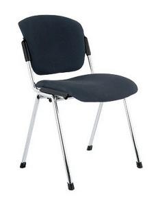 Компьютерное кресло era chrome обивка иск. кожа