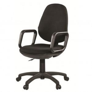 Компьютерное кресло Comfort черный кож.зам.