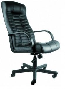 Компьютерное кресло atlant натуральная кожа