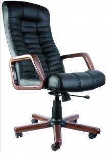 Компьютерное кресло atlant ex микрофибра, кожзам