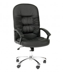 Кресло CHAIRMAN 418 натуральная кожа