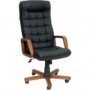 Кресло руководителя Телец ЕХ натуральная кожа