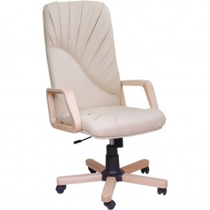 Кресло руководителя Миледи EX микрофибра, кожзам