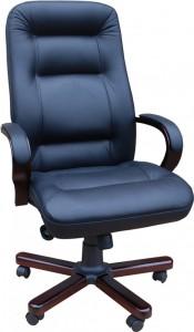 Кресло руководителя Ника LUX/ЕХ/МП микрофибра, кожзам