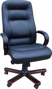 Кресло руководителя Ника LUX/ЕХ/МП кожа матрикс