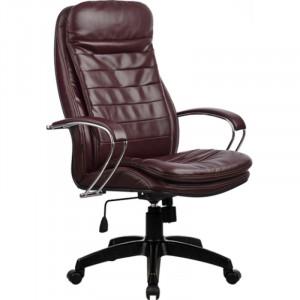 Кресло из натуральной перфорированной кожи LK-3