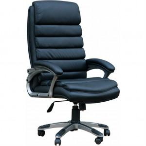 Кресло руководителя Q-87 экокожа долларе, ариес, микрофибра, стандарт