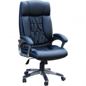 Кресло руководителя Q-8 экокожа стандарт, микрофибра