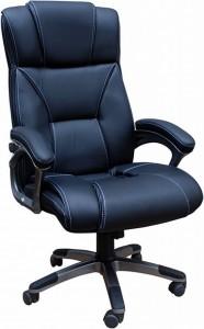 Кресло руководителя Q-44 экокожа стандарт, микрофибра