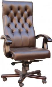 Кресло руководителя Честер ЕХ  натуральная кожа