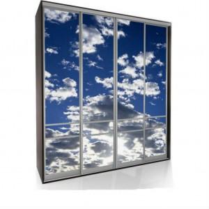 Шкафы-купе с фотопечатью Мебелайн 3