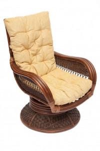 Кресло-качалка плетёное «Андреа релакс» (Andrea Relax) + Подушка