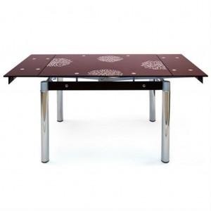 Обеденный стол TB008-6 бордо