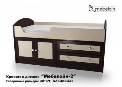 Детская кроватка Мебелайн 2