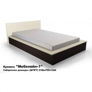 Кровать «Мебелайн-1»