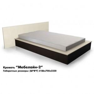 Кровать «Мебелайн-2»