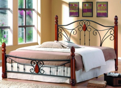 Кровать AT 9003 (метал. каркас) + основание SINGLE