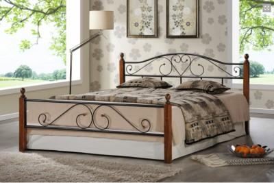 Кровать кованая AT 815 (метал. каркас) + основание 5281 QUEEN