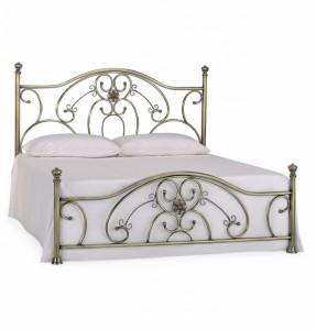 Кровать двуспальная белая «Элизабет» (Elizabeth) + основание 1400х2000