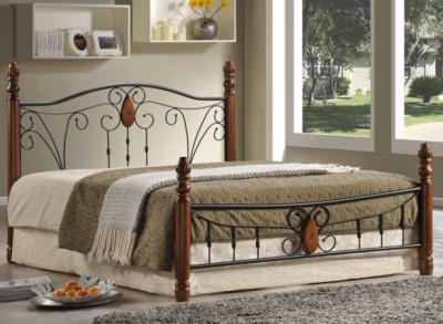 Кровать AT 9003 (метал. каркас) + основание 1400х2000