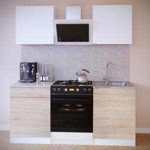 Кухонный гарнитур ПН-06+ТК-06.1+ПН-06+ТК-06м