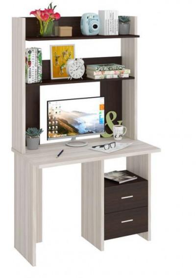 Компьютерный стол СКЛ-ПРЯМ100+НКЛХ-100