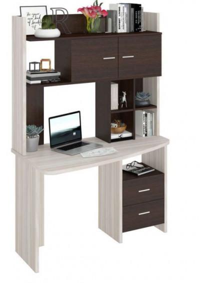 Компьютерный стол СКЛ-КРЛ120+НКЛХ-120