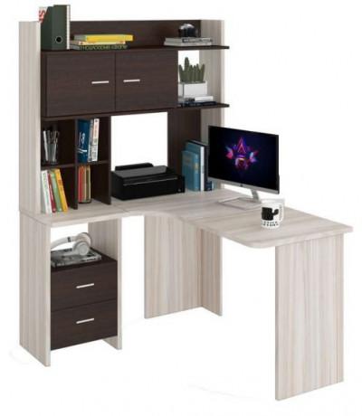 Компьютерный стол СКЛ-УГЛ130+НКЛХ-120