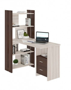 Компьютерный стол СТЛ-ОВ+С100ПРЯМ+ТЯЛ