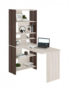 Компьютерный стол СТЛ-ОВХ+С100ПРЯМ (БЕЗ ТУМБЫ)