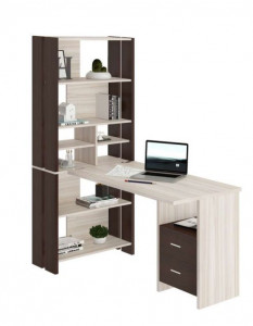 Компьютерный стол СТЛ-ОВХ+С120ПРЯМ+ТЯЛ