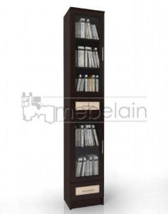 Книжный шкаф «Библиотека Мебелайн 42»