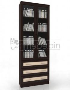 Книжный шкаф «Библиотека Мебелайн 51»