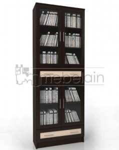 Книжный шкаф «Библиотека Мебелайн 43»