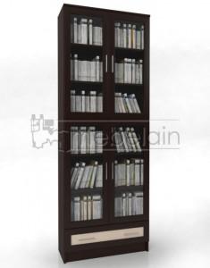 Книжный шкаф «Библиотека Мебелайн 26»