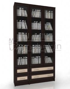 Книжный шкаф «Библиотека Мебелайн 36»