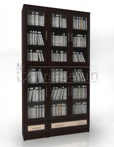 Книжный шкаф «Библиотека Мебелайн 27»