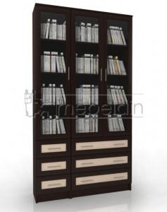 Книжный шкаф «Библиотека Мебелайн 52»