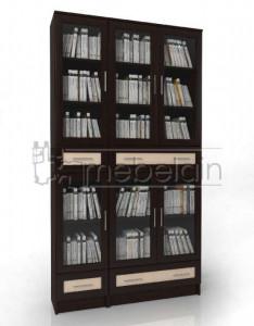 Книжный шкаф «Библиотека Мебелайн 44»