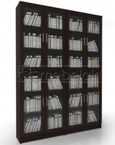 Книжный шкаф «Библиотека Мебелайн 12»
