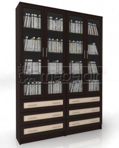 Книжный шкаф «Библиотека Мебелайн 53»