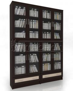 Книжный шкаф «Библиотека Мебелайн 28»