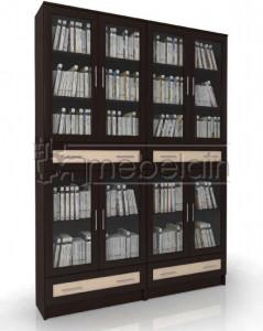Книжный шкаф «Библиотека Мебелайн 45»