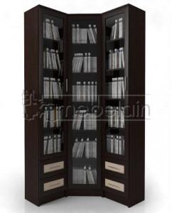 Книжный шкаф «Библиотека Мебелайн 38»