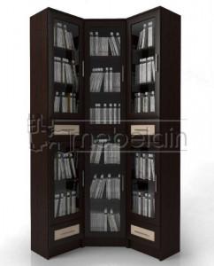 Книжный шкаф «Библиотека Мебелайн 46»