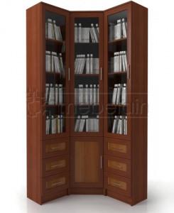 Книжный шкаф «Библиотека Мебелайн 54»
