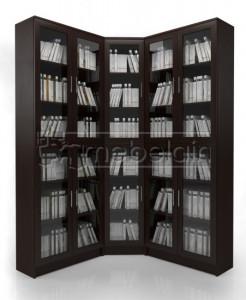 Книжный шкаф «Библиотека Мебелайн 15»