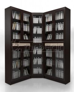 Книжный шкаф «Библиотека Мебелайн 29»