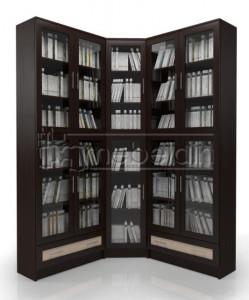 Книжный шкаф «Библиотека Мебелайн 31»