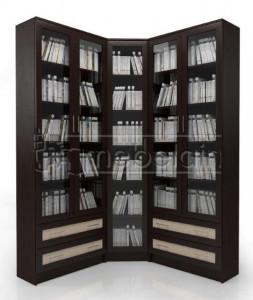 Книжный шкаф «Библиотека Мебелайн 39»